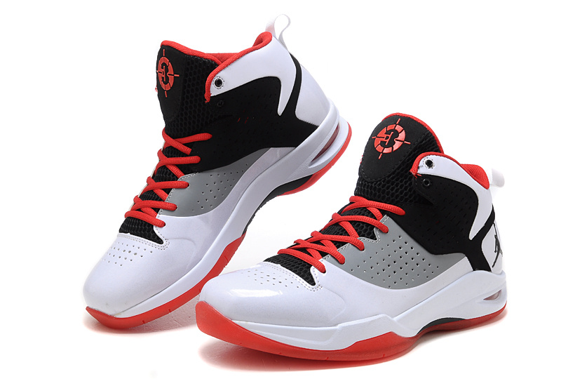Air Jordan Fly Wade Black Grey White Red