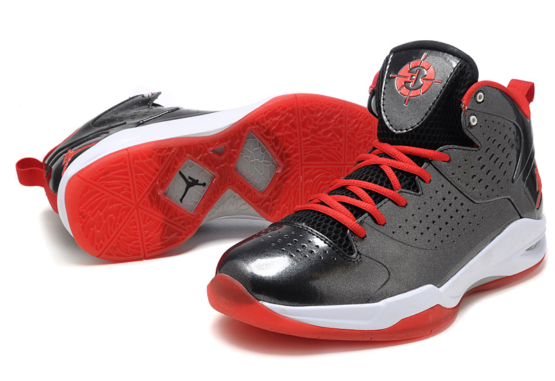 Air Jordan Fly Wade Black White Red