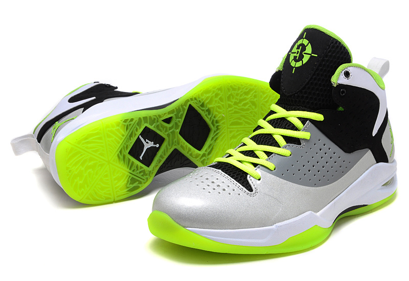 Air Jordan Fly Wade Grey White Yellow