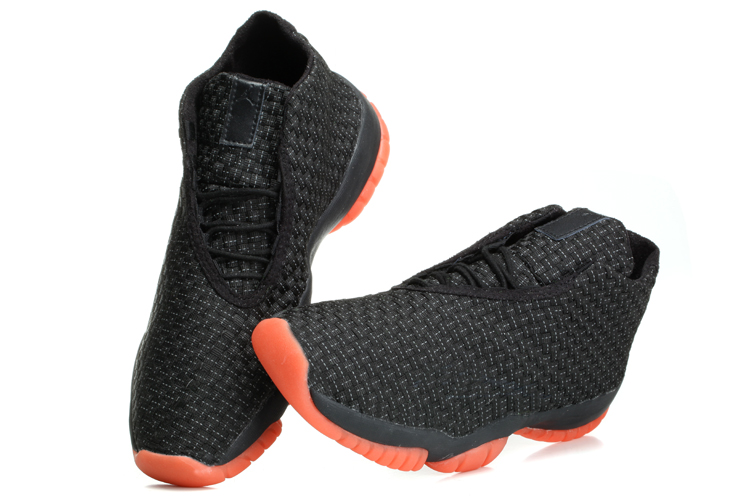 Air Jordan Future Black Red Shoes