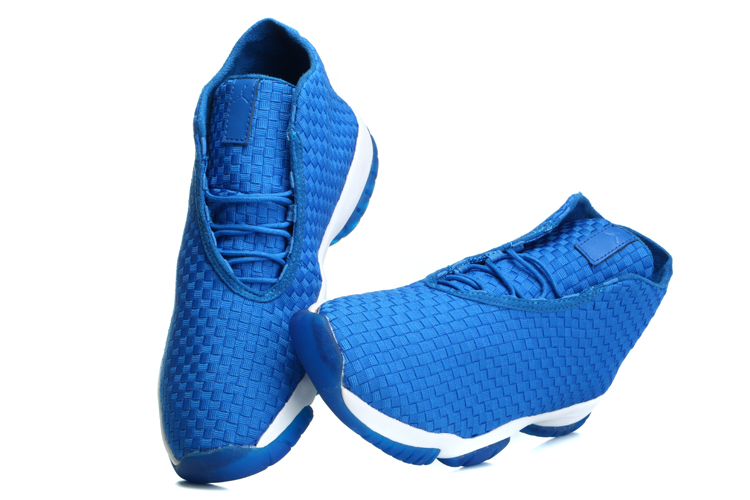 Air Jordan Future Blue White Shoes