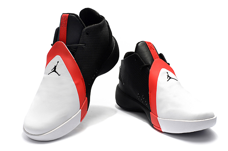 Air Jordan JB 3 White Black Red Shoes