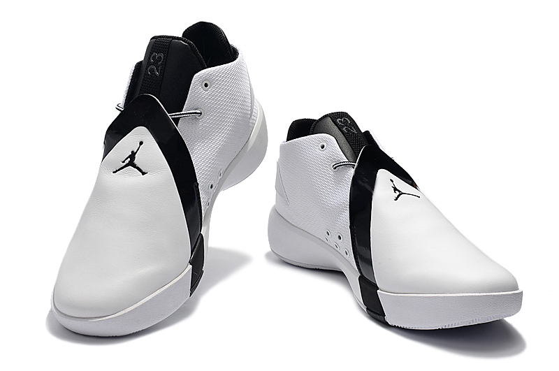 Air Jordan JB 3 White Black Shoes