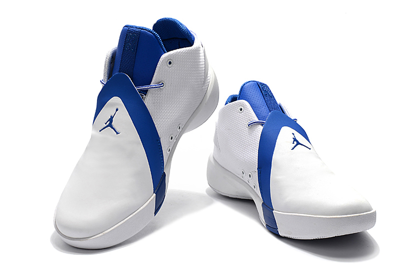 Air Jordan JB 3 White Blue Shoes