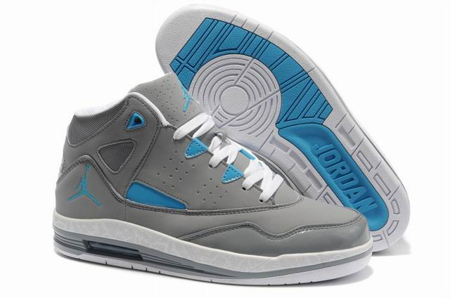 Air Jordan Jumpman H Series II Grey White Blue Shoes