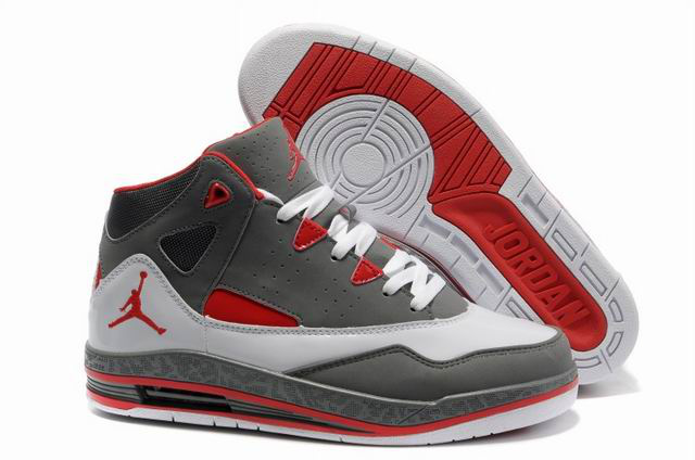 Air Jordan Jumpman H Series II Grey White Red Shoes