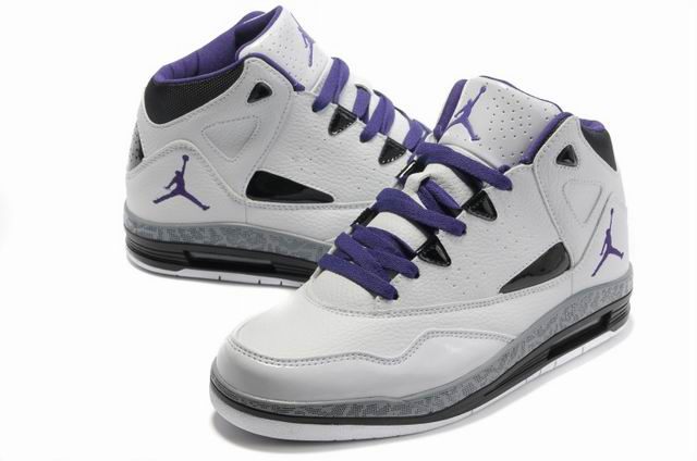 Air Jordan Jumpman H Series II White Purple Shoes
