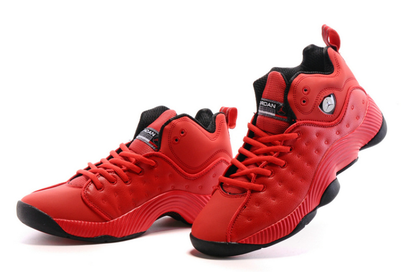 2016 Jordan Jumpman Team II All Red Black