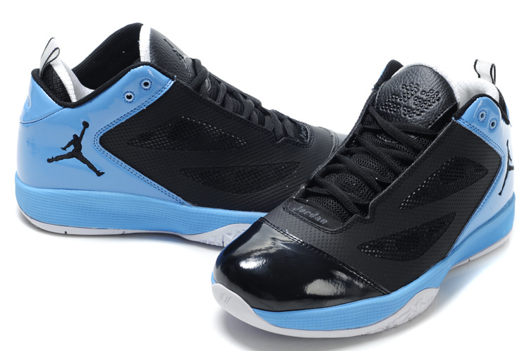 Air Jordan Quick Fuse Shoes Black Blue