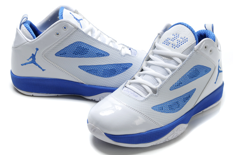 Air Jordan Quick Fuse Shoes White Blue