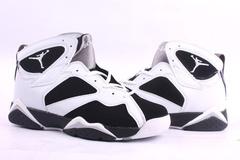 Air Jordan Retro 7 White Black