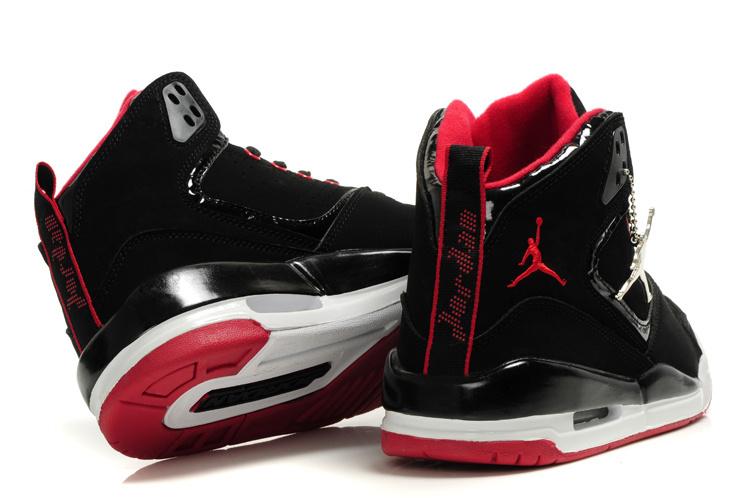 ... 2012 Air Jordan SC2 Black Dark Black White Red ...