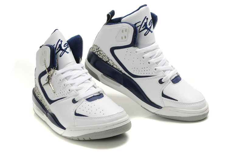2012 Air Jordan SC2 White Blue