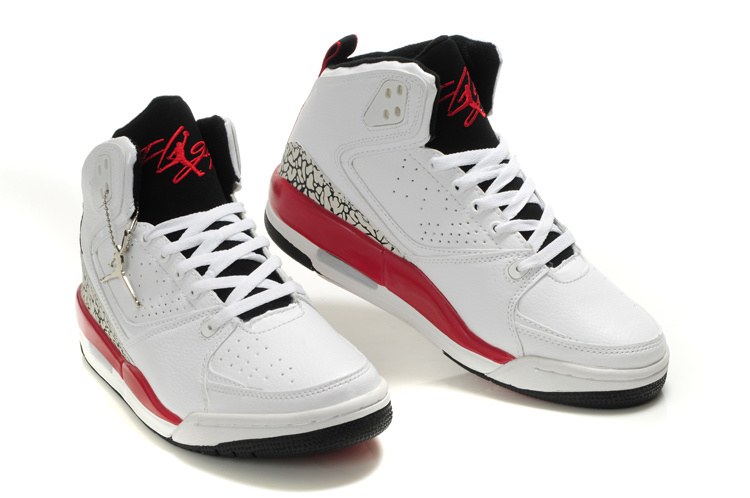 Buy 2012 Air Jordan SC2 White Red Black Online