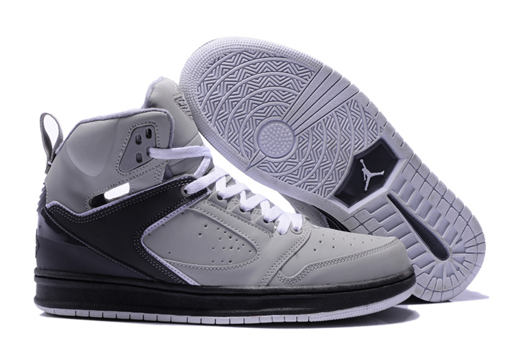 Air Jordan Sixty Club Grey Black Shoes