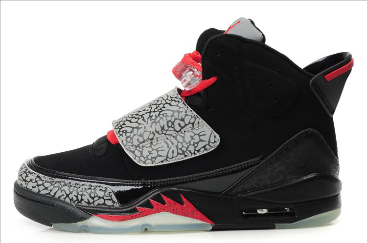 innovative design bb296 6ad33 ... inexpensive air jordan son of mars black grey red c5705 35aac