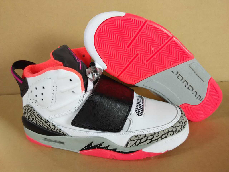 Latest Jordan Son of Mars White Grey Red