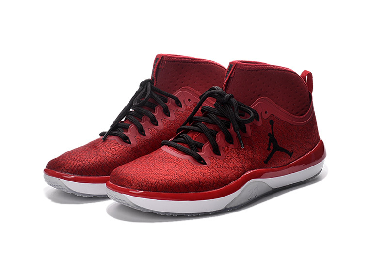 2016 Jordan Training Shoes 1 Low Red Black