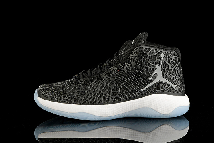 2016 Jordan Ultra.Fly Jimmy Black White Shoes