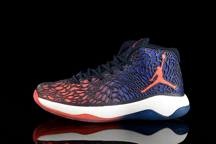 2016 Jordan Ultra.Fly Jimmy Blue Red White Shoes