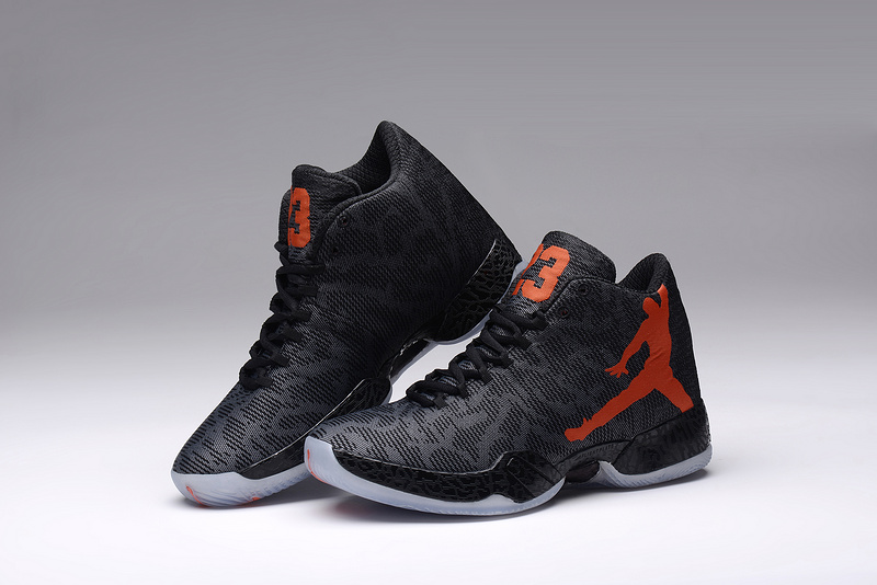 2015 Black Orange Air Jordan XX9 Lovers