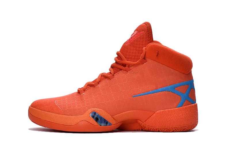 2016 Jordan 30 Orange Blue Shoes