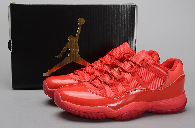 2015 Air Jordan 11 Retro All Red Shoes