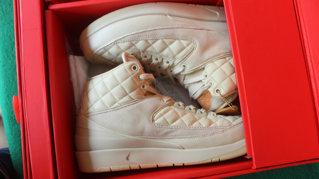 Don C x New Air Jordan 2 Beach All White Shoes