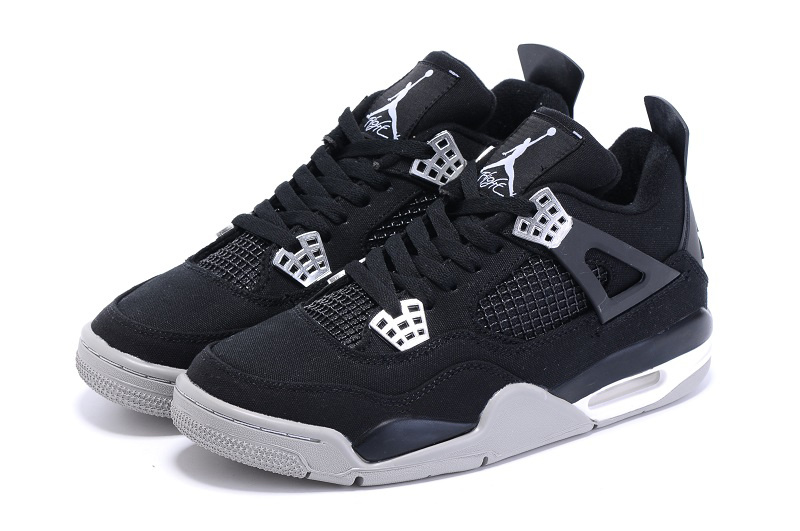 air jordan 4 black and white