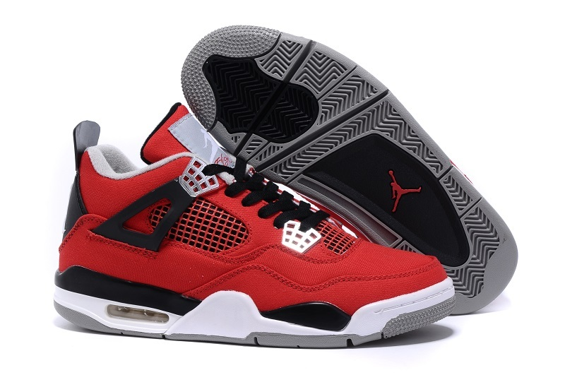 2015 Eminem x Carhartt x Air Jordan 4 Red Black White Shoes