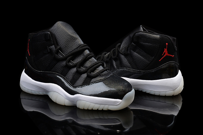 2015 Air Jordan 11 Retro Black Red Jumpman