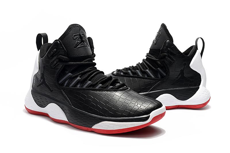 Jordan Super.Fly MVP Jordan Super Fly MVP Black White Red Shoes [18retro9605] - $79.00 ...
