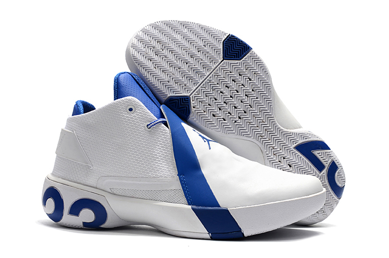 Jordan UltryFly 3 White Blue Shoes