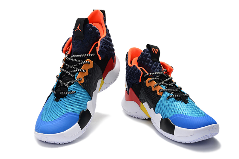 2019 Air Jordan Why Not Zer0.2 Black Blue Orange