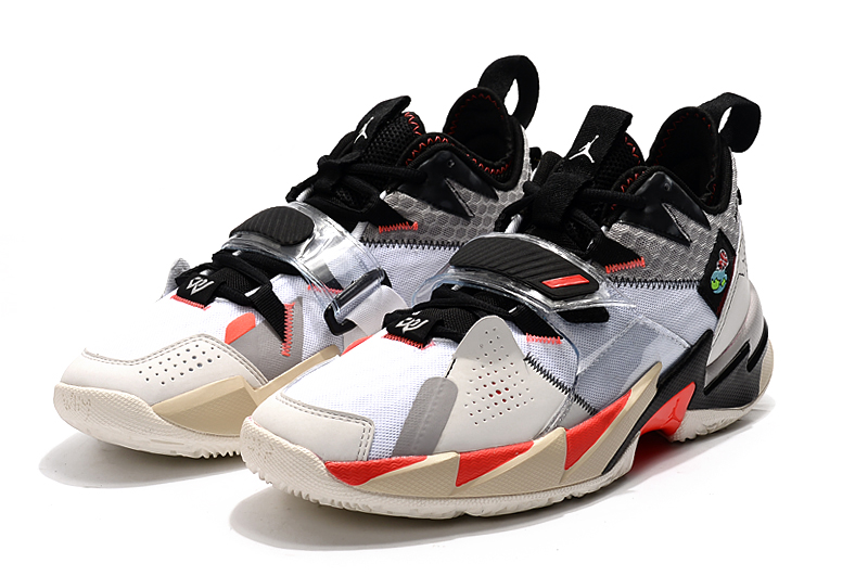 2020 Jordan Why Not Zer0.3 White Black Red Shoes
