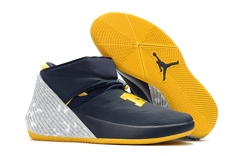 Jordan Why Not Zero.1 Black Yellow Shoes