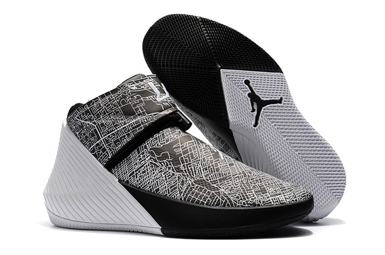 Jordan Why Not Zero.1 Grey Black White Shoes