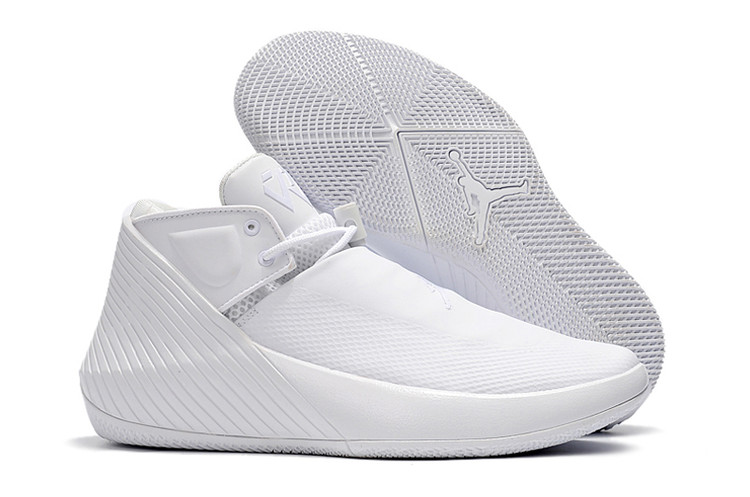 Jordan Why Not Zero.1 Low All White Shoes