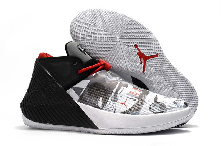 Jordan Why Not Zero.1 Low Grey Black Red Shoes