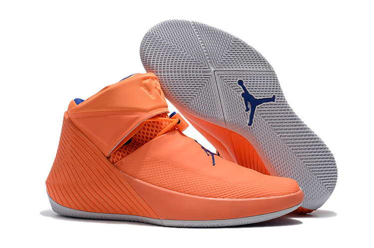 Jordan Why Not Zero.1 Orange Blue Shoes