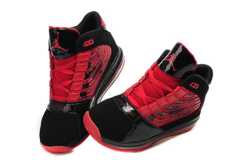 Air Jordan Big Ups Black Red