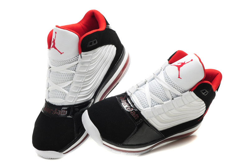 Air Jordan Big Ups Black White Red On Promotion Sale