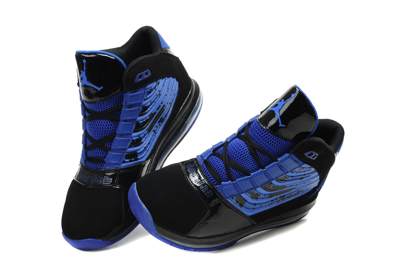 Air Jordan Big Ups Blue Black
