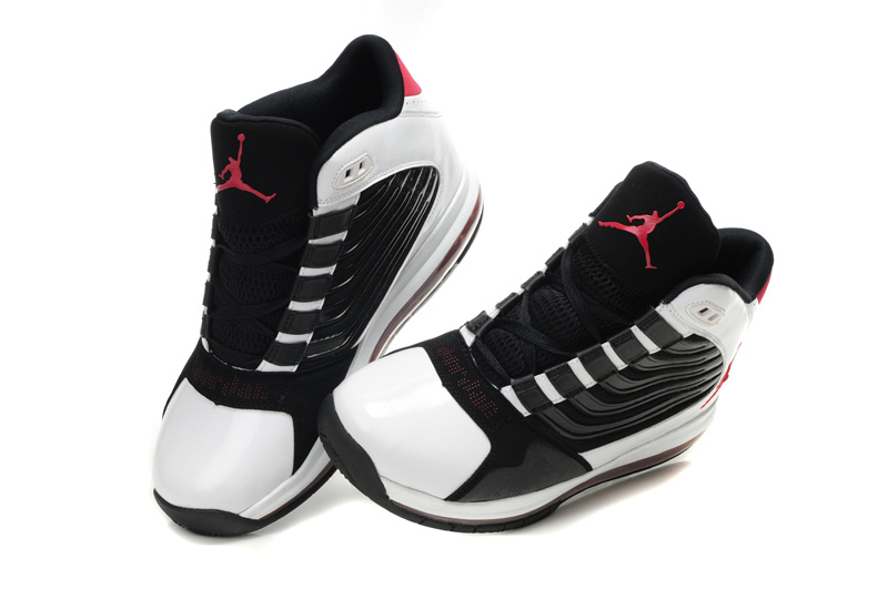 Air Jordan Big Ups White Black