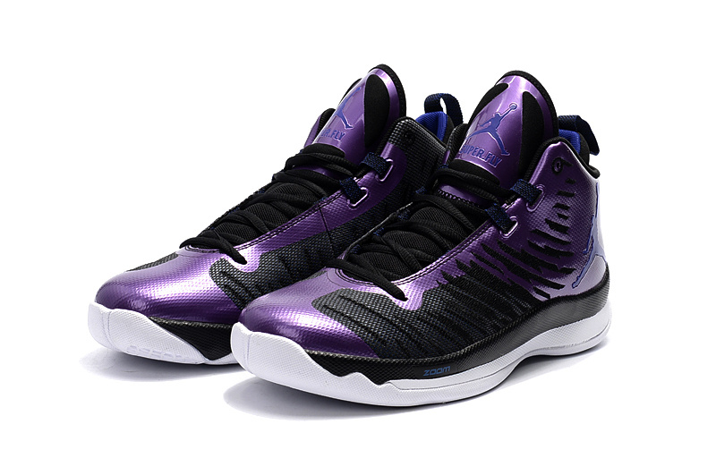 2016 Jordan Extra.Fly Black Purple Shoes