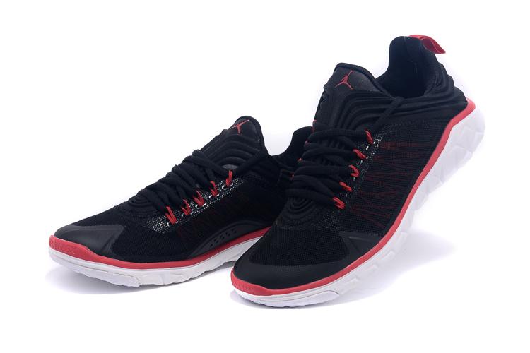 2016 Air Jordan Flight Flex Trainer Black Red White