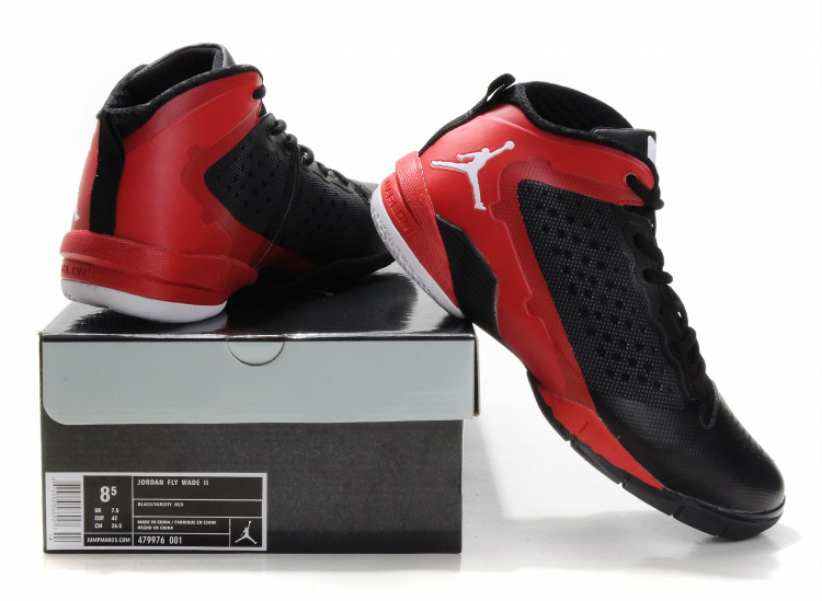 Jordan Fly Wade II Black Red White