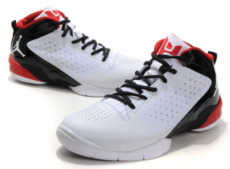 Jordan Fly Wade II White Black Red
