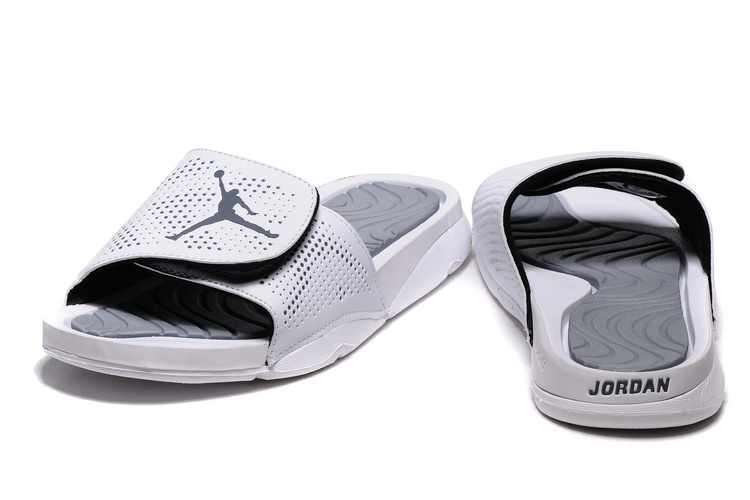2016 Air Jordan Hydro V Retro All Grey Sandal