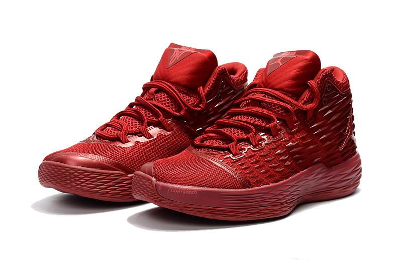 2017 Air Jordan Melo 13 All Red Shoes